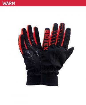 Guanti Termici Biotex Super Warm Winter - Black Red
