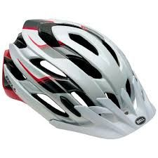 Casco Bell Event XC Bianco Rosso