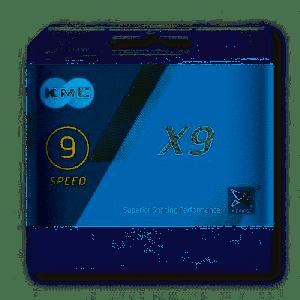 KMC Catena X9 114 Links 9v. Silver mtb