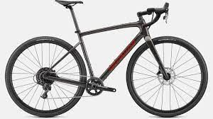 Specialized DIVERGE BASE CARBON disc 2021 Gloss Smoke/Redwood/Chrome/Clean Gravel SUPER OFFERTA
