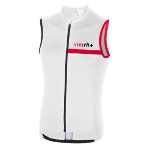 Smanicato Ciclismo Prime Sleeveless Rh+ Black White Red Black
