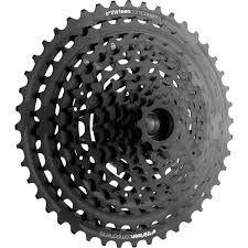 CASSETTA PIGNONI MTB E*THIRTEEN TRS  PLUS 9-44T 11 V  Black
