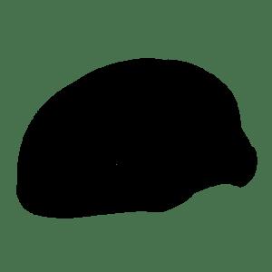 Casco Salice Gavia Nero Opaco Nuovo