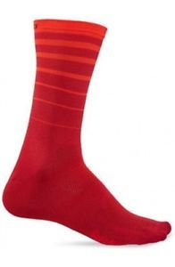 Calze Giro Comp Racer High Rise RED