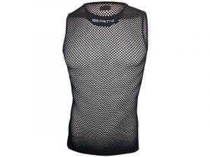 BRN Maglia Intima Rete Hi-Tech Mesh Sleeveless Black