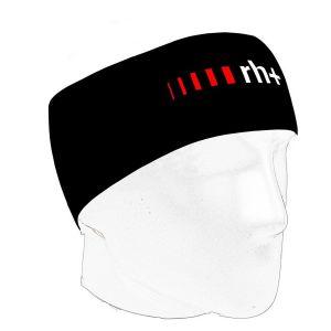 Fascia Fashion Lab Headband Rh+ Nero Fascia Testa Bici Running e Tempo Libero Taglia Unica