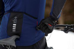 Zero Rh+ Giacca Invernale Code 2 Jacket Blu e Nero NUOVO