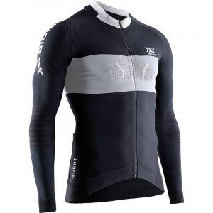 Maglia Tecnica X-Bionic Invent 4.0 Race Full Zip Maniche Lunghe Ciclismo e Running ULTIMA  TAGLIA DISPONIBILE XL SUPER OFFERTA