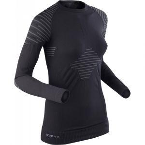 Maglia Intima Donna X-Bionic Invent 4.0 Manica Lunga nero Ciclismo e Running