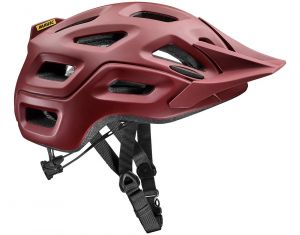Casco Mavic CrossRide Enduro Freeride Cross Country Rosso Scuro