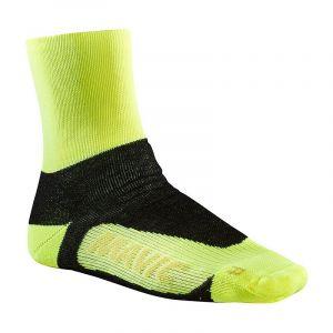 Calze Termiche Mavic Essential Thermo Sock Giallo Fluo