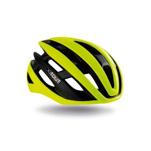 Casco Dotout Kabrio Shiny Yellow Matt Black Nero Giallo
