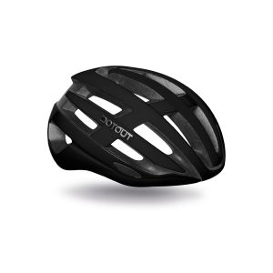 Casco Dotout Targa Shiny Black-Matt Black Nero