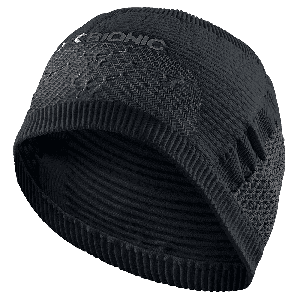 X-BIONIC FASCIA ALTA Paraorecchie High Headband 4.0 Nero Taglia I Ciclismo e Running