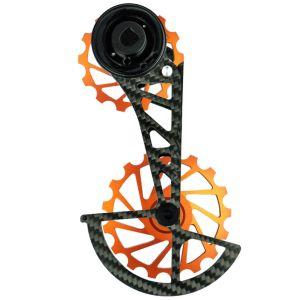 Nova Ride Kit Pulegge con Gabbia in Carbonio OSPW per Sram AXS 12v Arancio