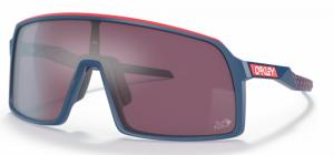 Occhiali Oakley  Sutro Tour De France Collection Blu Rosso Lenti Prizm Road Black