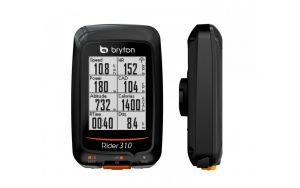 Bryton Rider 310T Ciclocomputer GPS + Fascia Cardio
