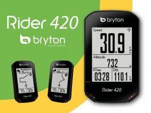 Bryton Rider 420E Ciclocomputer GPS Base