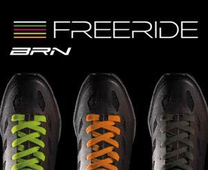 Scarpe MTB BRN Freeride Nuovo Modello laccetti colorati intercambiabili