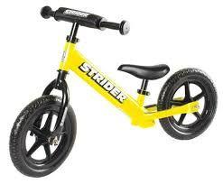 Bicicletta Strider 12 Sport Balance - GIALLA
