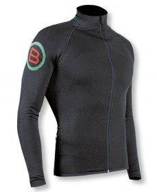 Biotex Maglia Ciclismo Manica Lunga Invernale Win Black