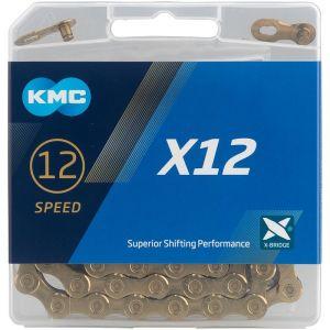 KMC Catena x12 126 Links 12v. Gold