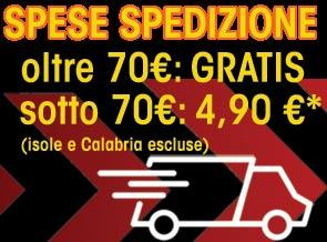 Spedizione Gratuita sopra 70 Euro